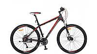 """Велосипед Crosser One-1 *21 29"""" черно-красный горный алюминиевый гидравлика, фото 1"""