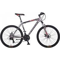 """Велосипед Crosser Flash 29"""" рама 19"""" горный алюминиевый серый"""