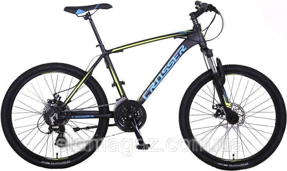 """Велосипед Crosser Grim*19 29"""" горный алюминиевый черный"""