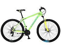 """Велосипед Crosser Hunter-1*19 29"""" горный алюминиевый салатовый , фото 1"""