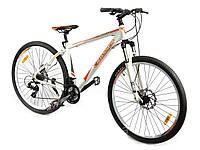 """Велосипед Crosser Leader*19 29"""" бело-оранжевый горный алюминиевый , фото 1"""
