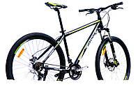"""Велосипед Crosser Leader*19 29"""" черно-зеленый горный алюминиевый , фото 1"""