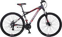 """Велосипед Crosser Viper*19 29"""" черно-красный алюминиевый горный, фото 1"""
