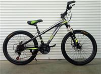 """Велосипед TopRider-611 24"""" горный детский салатовый, фото 1"""