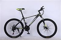 "Велосипед горный TopRider-611 26"" лайм"