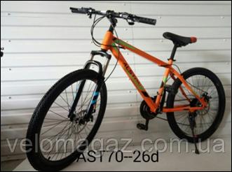 """Велосипед горный TopRider AST70 26"""" черный"""