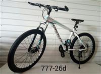 """Велосипед горный TopRider 777 26"""" белый"""