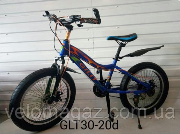 """Велосипед спортивный TopRider GLT-30 20"""""""
