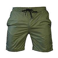 Пляжные мужские зеленые шорты, фото 1
