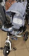 Трехколесный велосипед BC-17B Lambotrike Azimut AIR Light детский серый, фото 1