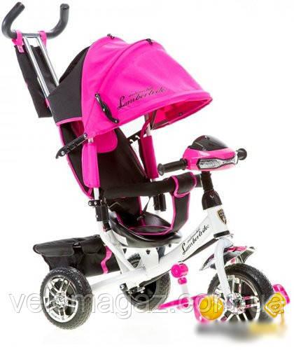 Триколісний велосипед BC-17B Lambotrike Azimut AIR Light дитячий рожевий
