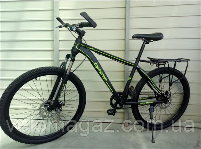 """Велосипед спортивный TopRider 700 26"""" салатовый"""