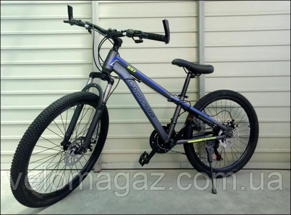 """Велосипед спортивний TopRider 887 24"""" синій"""