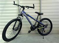 """Велосипед спортивний TopRider 887 24"""" синій, фото 1"""