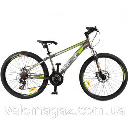"""Велосипед гірський Crosser Force (135) NEW G-FR/D-1 26"""" сірий"""