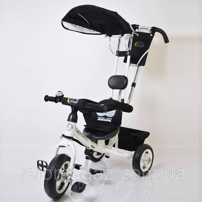 Sigma Lex-007 велосипед детский трехколесный (10/8 EVA wheel) White