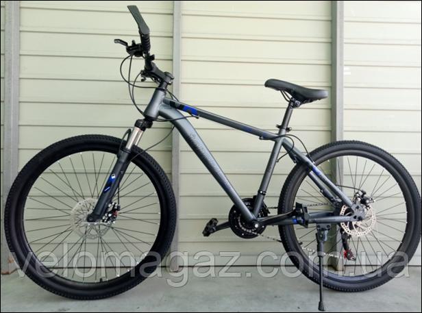 "Велосипед спортивный TopRider G35 26"" синий"