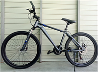 "Велосипед спортивный TopRider G35 26"" синий, фото 1"