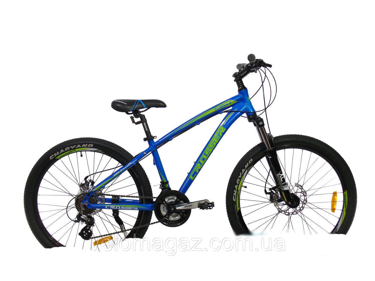 """Велосипед Crosser Summer*16 26"""" синий горный алюминиевый"""