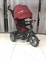 CROSSER T-400 NEO ECO AIR терракотовый детский трехколесный велосипед , фото 1