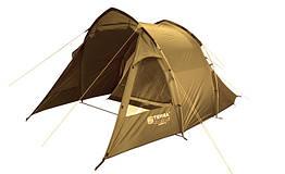 Палатка Terra Incognita Camp 4 песочного цвета (песочный)