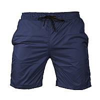 Пляжные мужские синие шорты