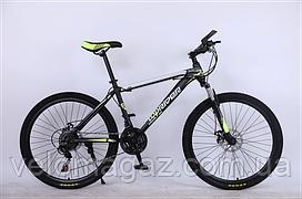 """Велосипед спортивный TopRider-611 29"""" салатовый"""