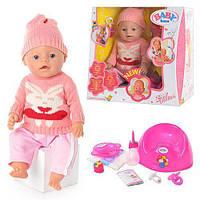 Кукла-пупс BB 8001 K интерактивная, оригинал, 9 функций