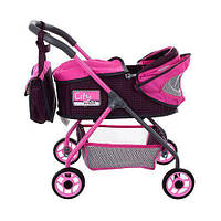 Коляска для куклы City Max 86018 Pink, фото 1