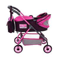 Коляска для ляльки City Max 86018 Pink, фото 1