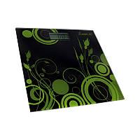Весы напольные электронные мод. 5870-3 (стекло, квадрат, полосы, до 180 кг.)