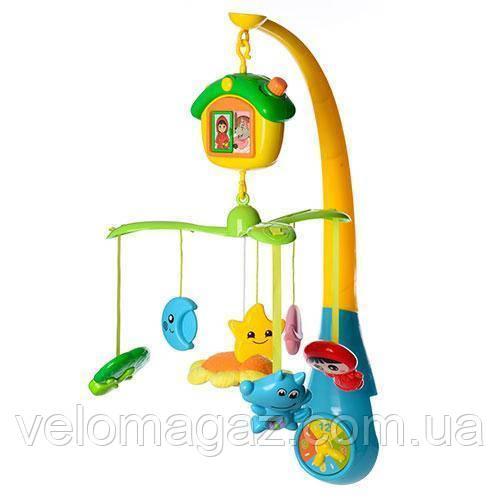 Детская музыкальная карусель (мобиль) на кроватку FS-35603