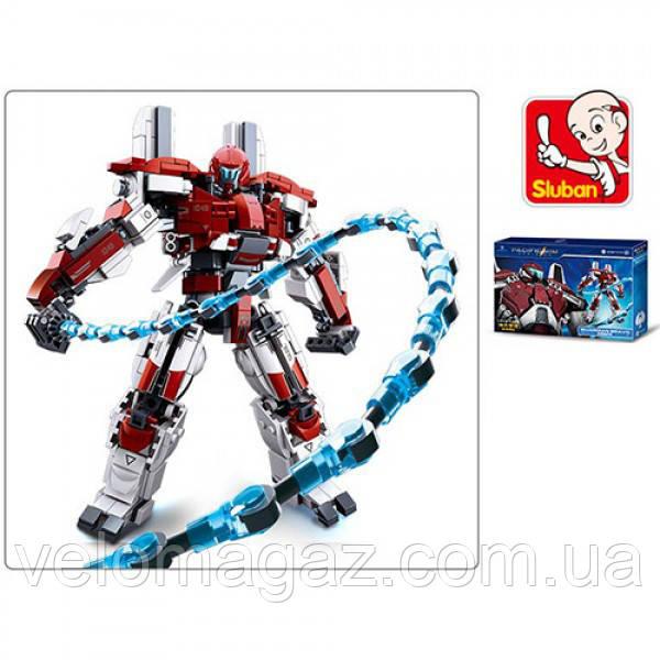 Детский конструктор SLUBAN M38-B0726D, ( 512 деталей  ), робот-космический воин
