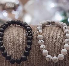 Браслеты ручной работы из натуральных камней от бренда King Style