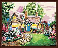 Картина по номерам Menglei MG047 Маленький сказочный домик  40 х 50 см