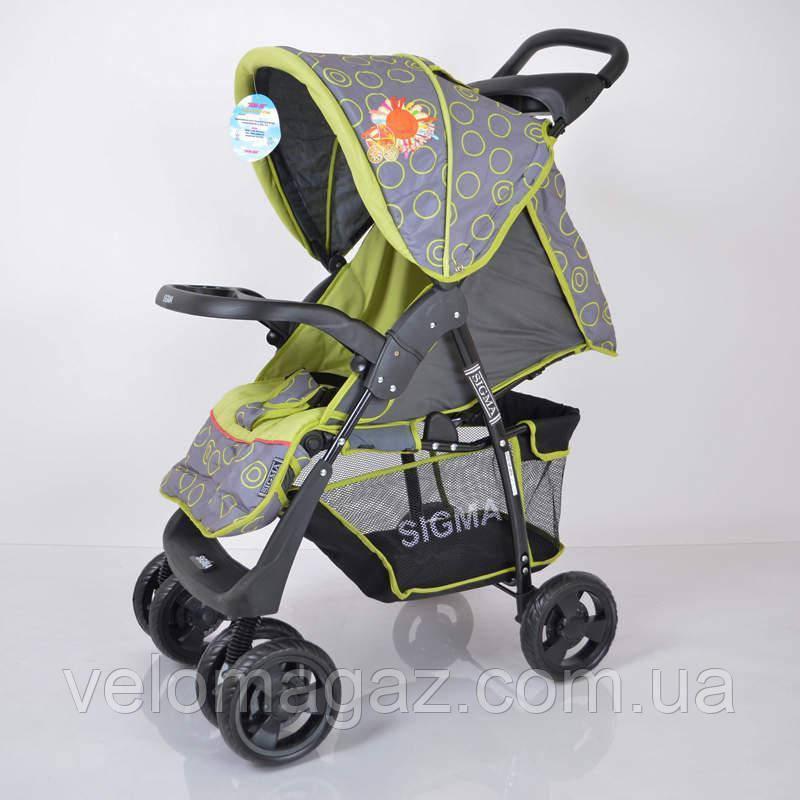 Детская коляска Sigma S-K-5AF Grey-green