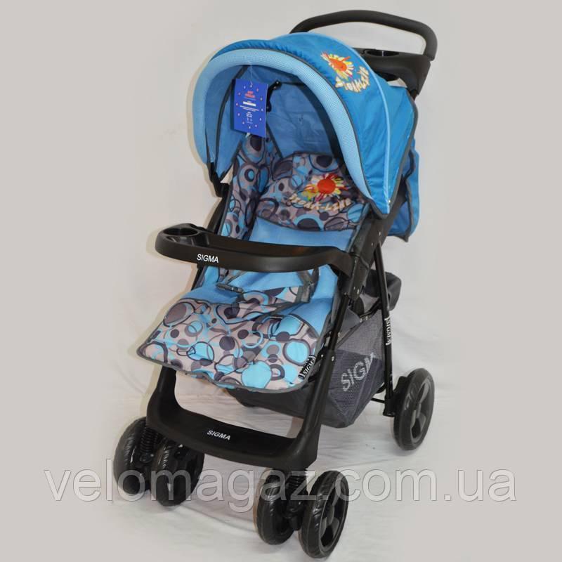 Детская коляска Sigma S-K-5AF Blue