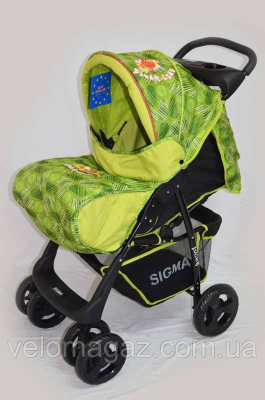 Дитяча коляска Sigma S-K-5AF Green
