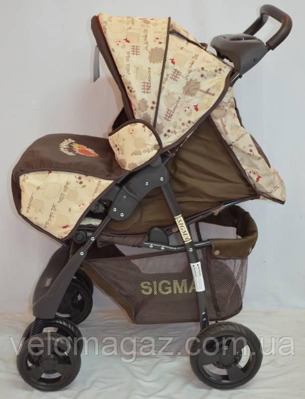 Детская коляска Sigma S-K-5AF (brown)