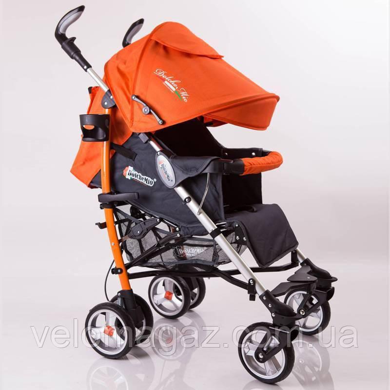 "Прогулочная детская коляска ""DolcheMio""-SH638APB Orange"