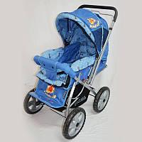 Прогулянкова дитяча коляска Sigma H-225F синя
