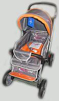 Прогулочная детская коляска Sigma H-538EF серая