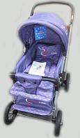 Прогулочная детская коляска Sigma H-538AF (надувные колеса) фиолетовая