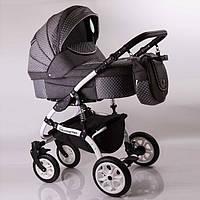"""Универсальная детская коляска 2 в 1 """"Sherry Lux"""" Gray (Лен), фото 1"""
