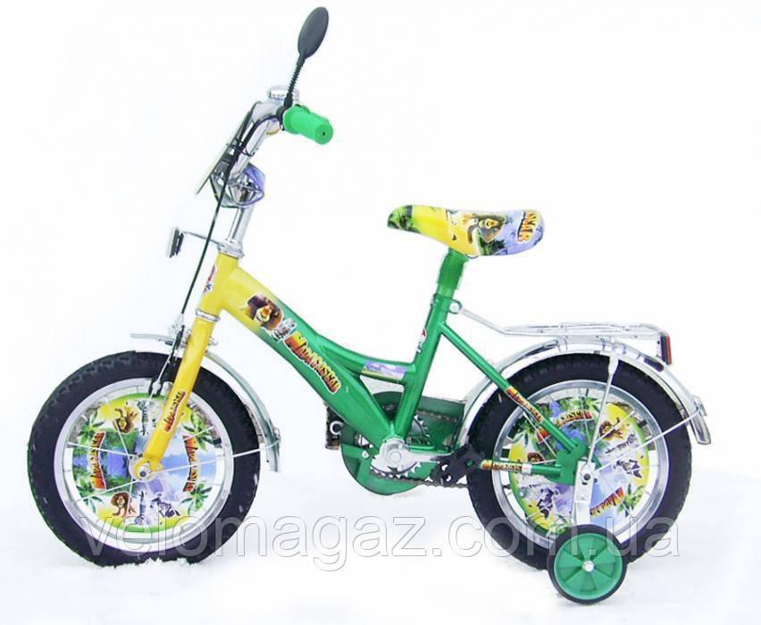 Дитячий велосипед МАДАГАСКАР 18