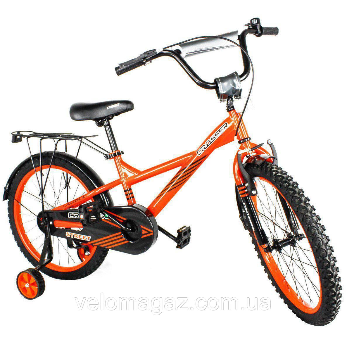 STREET CROSSER-7 16 детский велосипед