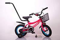 "Велосипед INTENSE 12"" N-200 Розовый-Неон Sigma, фото 1"