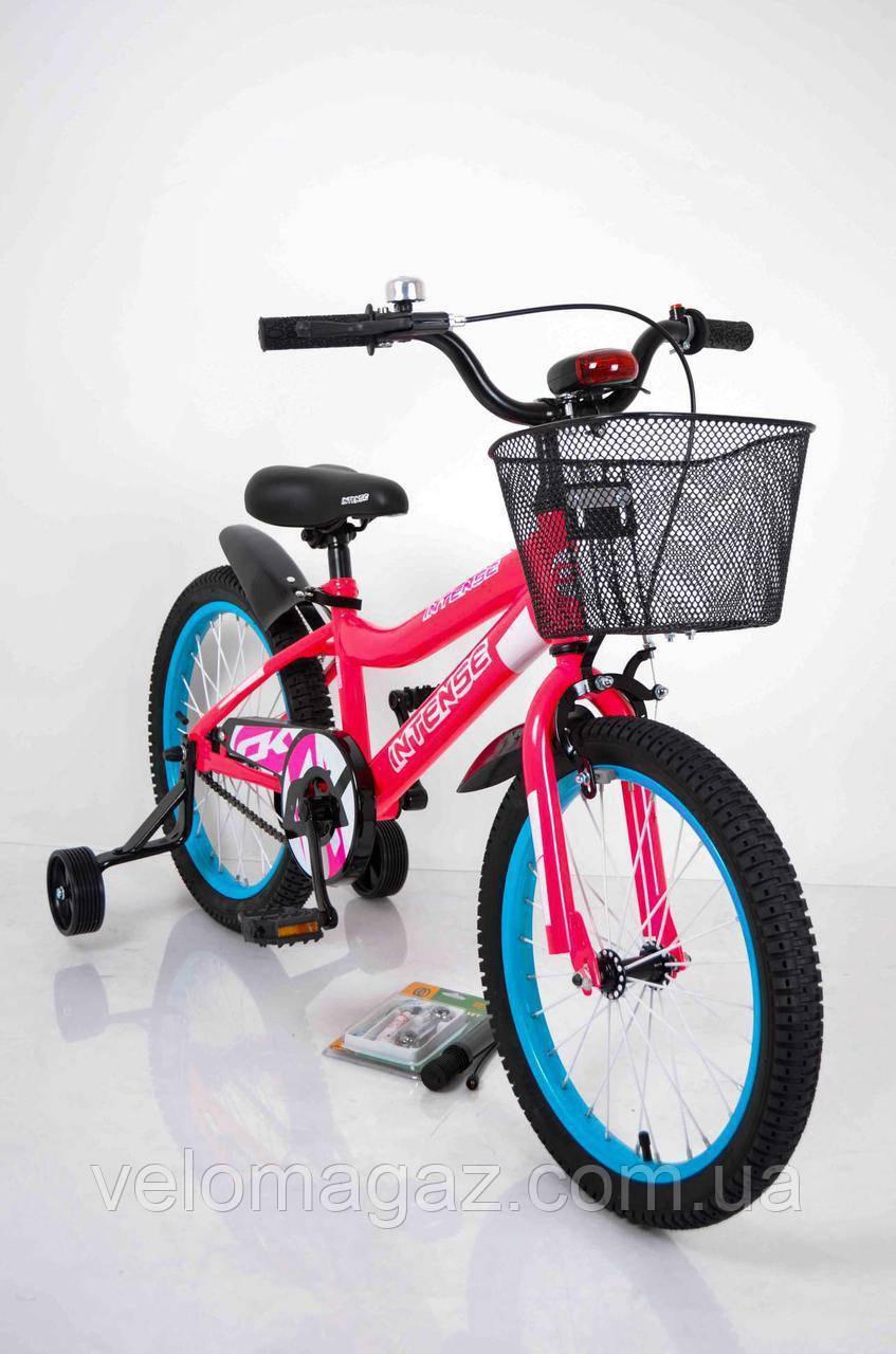 """Велосипед INTENSE 18"""" N-200 Рожевий-Неон Sigma"""