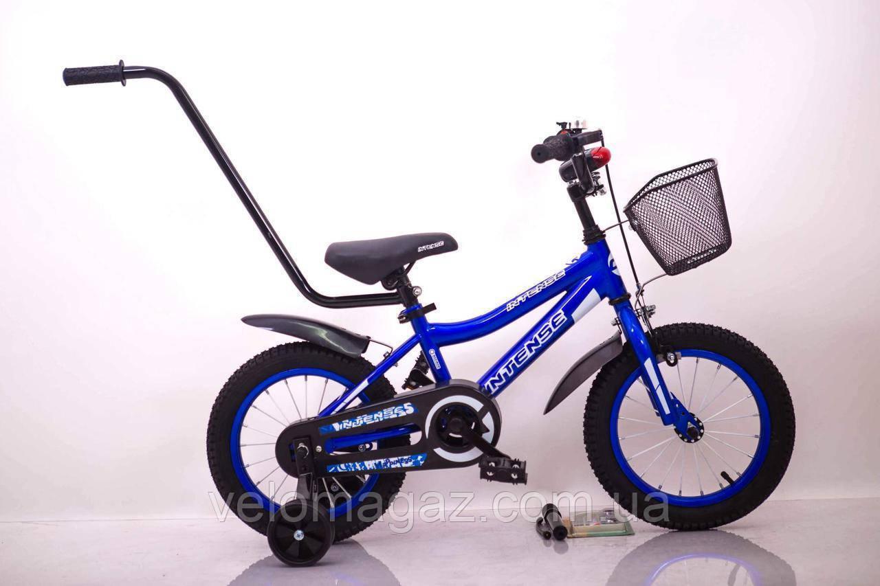 """Велосипед INTENSE 14"""" N-200 Синий Sigma"""