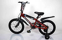 """Велосипед детский""""NEXX BOY-16"""" Красный-Сплэш, фото 1"""